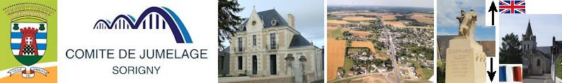 Sorigny, France & Box UK site web du jumelage