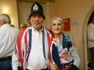 Francine Gaboriau et son mari (& husband)
