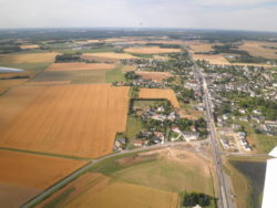 Sorigny Aerial vers le Nord