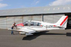 Robin F-GJZR de l'aeroclub