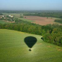 Photo d'un Montgolfier