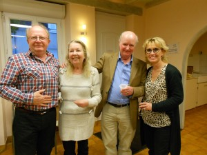Alain Esnault, Michael & Carole Williams, Christine Colin-Desbordes