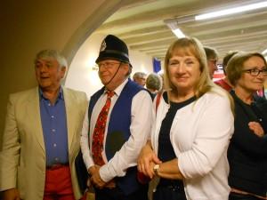 Barry Sims, Alain Esnault & Cheryl