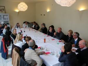 Le déjeuner a Azay le Rideau