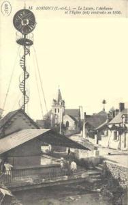 1866 Sorigny - Vue generale et Mairie v2