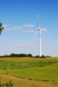 Une éolienne moderne