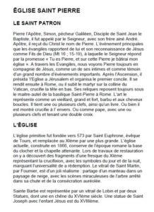 L'Eglise Saint Pierre DescriptionFR