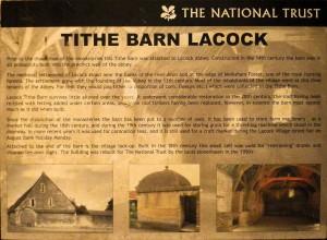 Tithe Barn Lacock