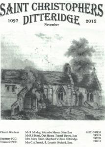 St Christopher's Ditteridge BroCover