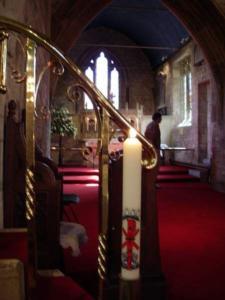 St. Thomas a Becket Church, Box, Interior